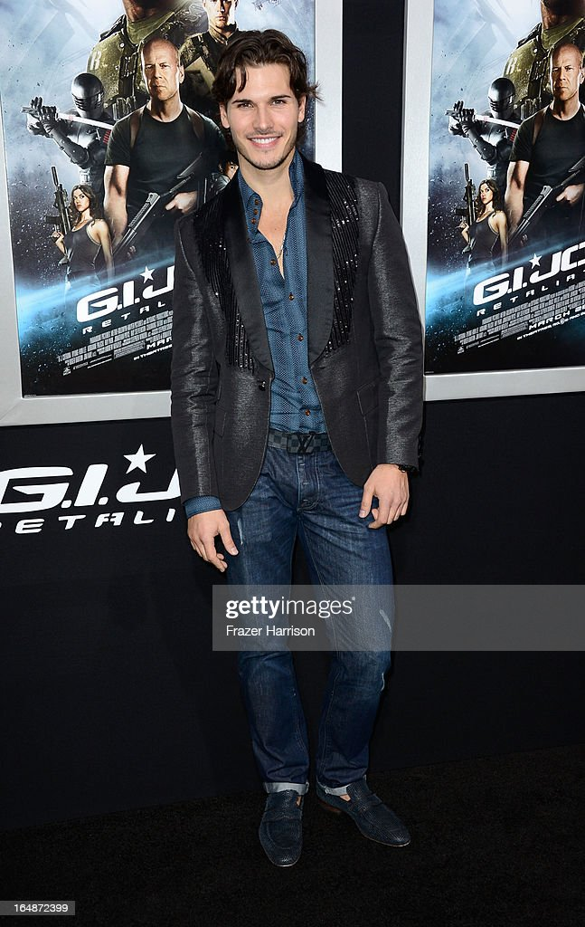 Dancer Gleb Savchenko arrives at the Premiere of Paramount Pictures' 'G.I. Joe: Retaliation' at TCL Chinese Theatre on March 28, 2013 in Hollywood, California.