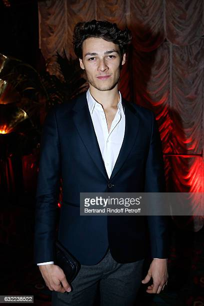 Dancer Hugo Marchand attends the Berluti Dinner as part of Paris Fashion Week Menswear F/W 20172018 Held at Maxim's on January 20 2017 in Paris France