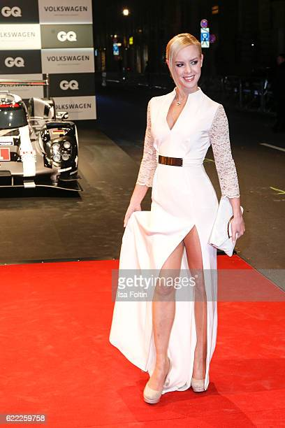 Dancer Isabel Edvardsson attends the GQ Men of the year Award 2016 at Komische Oper on November 10 2016 in Berlin Germany
