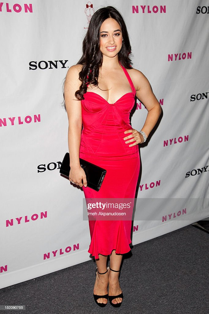 Dancer Jeanine Mason attends the NYLON And Sony X Headphones September TV Issue Party at Mr. C Beverly Hills on September 15, 2012 in Beverly Hills, California.