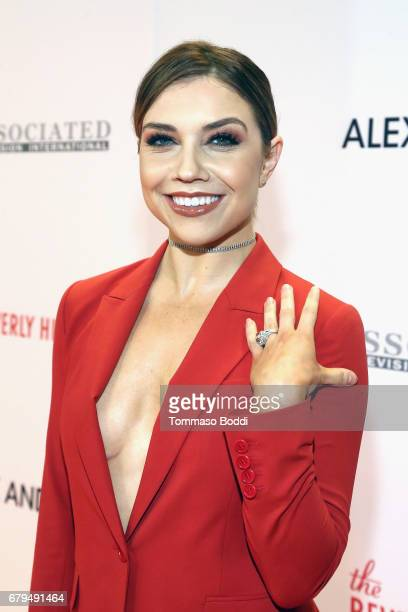 Dancer Jenna Johnson attends the 24th Annual Race To Erase MS Gala at The Beverly Hilton Hotel on May 5 2017 in Beverly Hills California