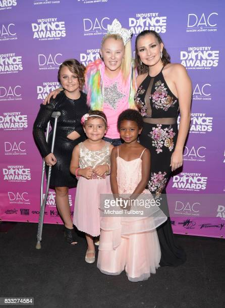 Dancer JoJo Siwa and guests attend the 2017 Industry Dance Awards and Cancer Benefit Show at Avalon on August 16 2017 in Hollywood California