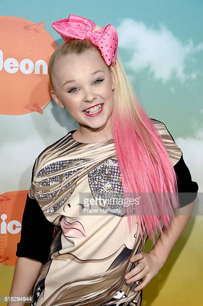 Dancer JoJo Siwa attends Nickelodeon's 2016 Kids' Choice Awards at The Forum on March 12 2016 in Inglewood California