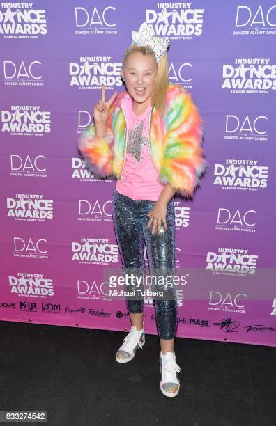 Dancer JoJo Siwa attends the 2017 Industry Dance Awards and Cancer Benefit Show at Avalon on August 16 2017 in Hollywood California