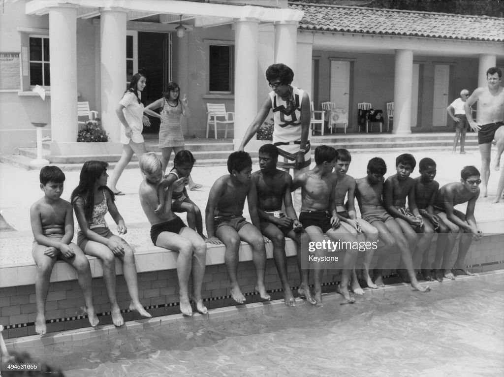 Gallery getty images for Josephine baker swimming pool