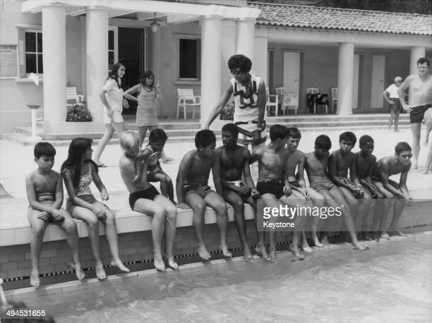 Lac0089 stock photos and pictures getty images for Josephine baker pool