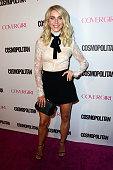 Dancer Julianne Hough attends Cosmopolitan's 50th Birthday Celebration at Ysabel on October 12 2015 in West Hollywood California