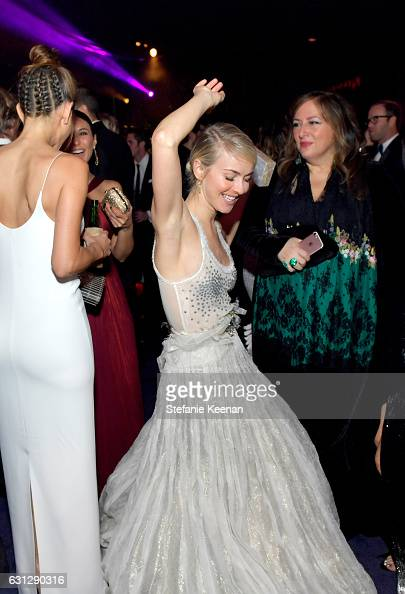 Dancer Julianne Hough attends The 2017 InStyle and Warner Bros 73rd Annual Golden Globe Awards PostParty at The Beverly Hilton Hotel on January 8...