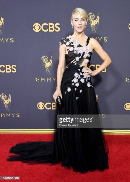 Dancer Julianne Hough attends the 69th Annual Primetime Emmy Awards at Microsoft Theater on September 17 2017 in Los Angeles California