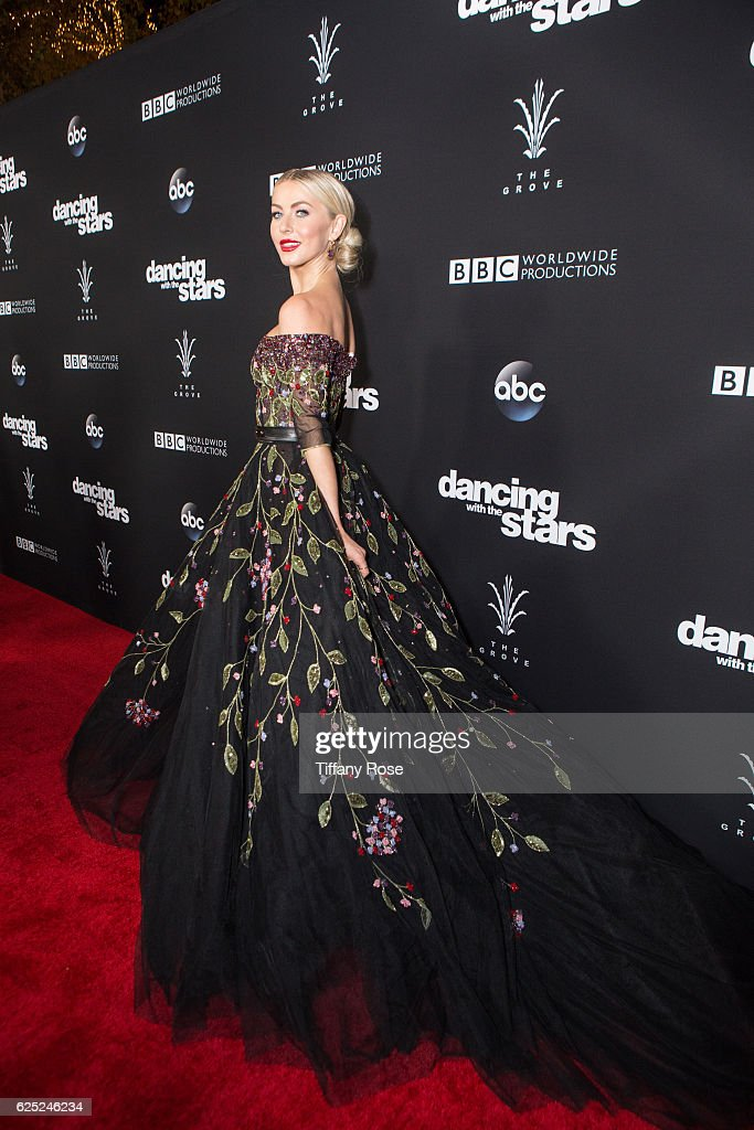 Dancer Julianne Hough attends the 'Dancing With The Stars' live finale at The Grove on November 22, 2016 in Los Angeles, California.