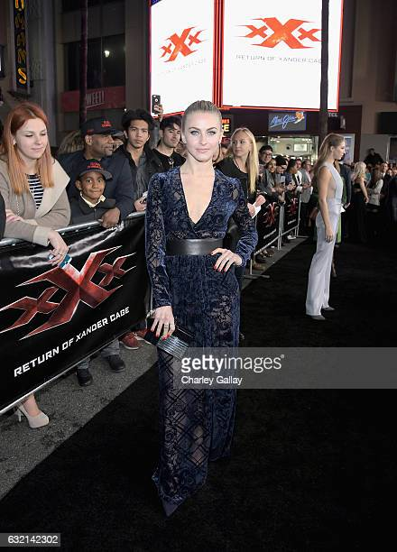 Dancer Julianne Hough attends the LA Premiere of the Paramount Pictures title 'xXx Return of Xander Cage' at TCL Chinese Theatre IMAX on January 19...