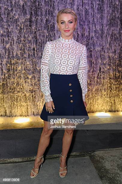 Dancer Julianne Hough attends the unveiling of the RH Modern Gallery in Los Angeles on November 4 2015
