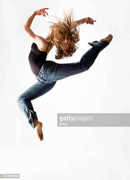 dancer jumping in the air