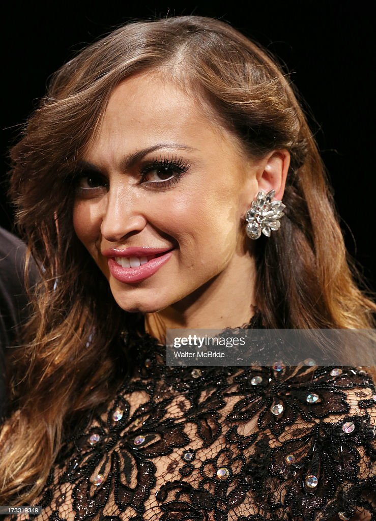 Dancer Karina Smirnoff attends 'Forever Tango' Press Preview at Walter Kerr Theatre on July 11, 2013 in New York City.