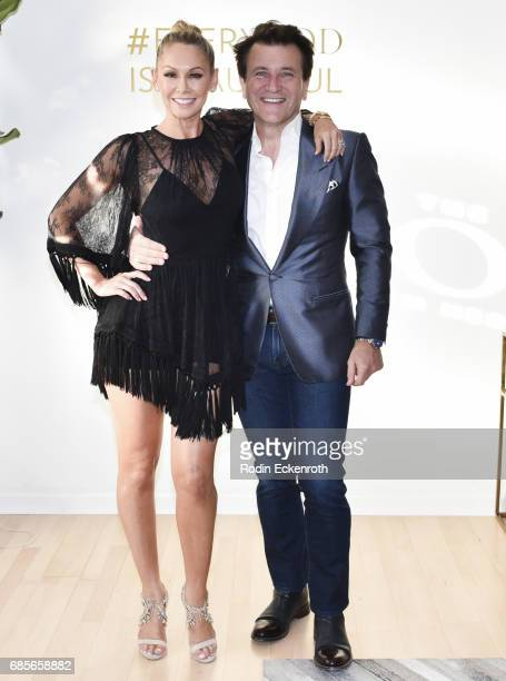 Dancer Kym Herjavec and Robert Herjavec attends her grand opening of The Bod on May 19 2017 in Beverly Hills California