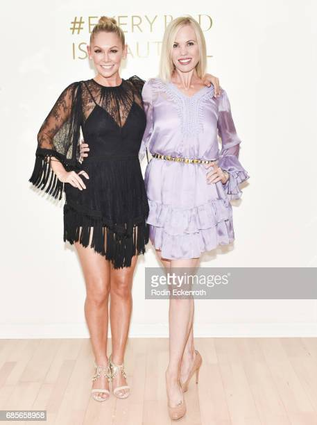 Dancer Kym Herjavec and Rockell Williamson attend grand opening of The Bod by Kym Herjavec on May 19 2017 in Beverly Hills California