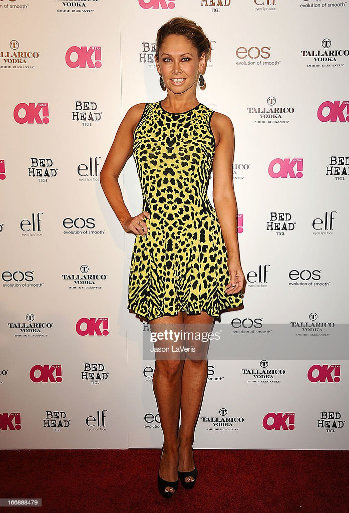 Dancer Kym Johnson attends OK! Magazine's annual 'So Sexy' party at SkyBar at the Mondrian Los Angeles on April 17, 2013 in West Hollywood, California.