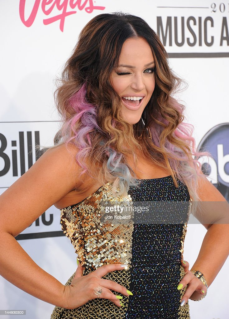 Dancer Lacey Schwimmer arrives at the 2012 Billboard Music Awards held at the MGM Grand Garden Arena on May 20, 2012 in Las Vegas, Nevada.