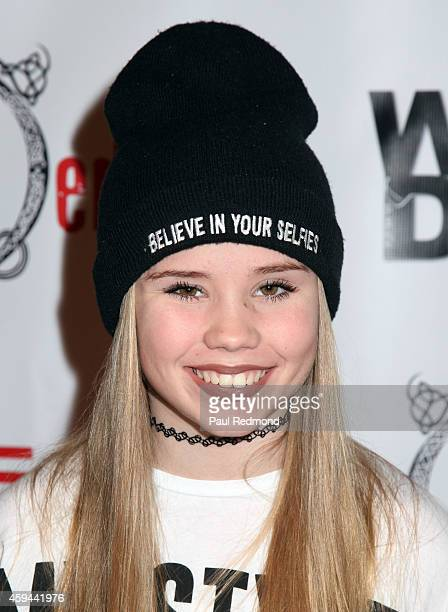 Dancer Lexee Smith arrives at 'Ballet RED' one night only show at The Broad Stage on November 22 2014 in Santa Monica California