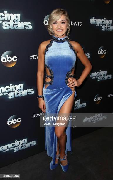 Dancer Lindsay Arnold attends 'Dancing with the Stars' Season 24 at CBS Televison City on May 15 2017 in Los Angeles California