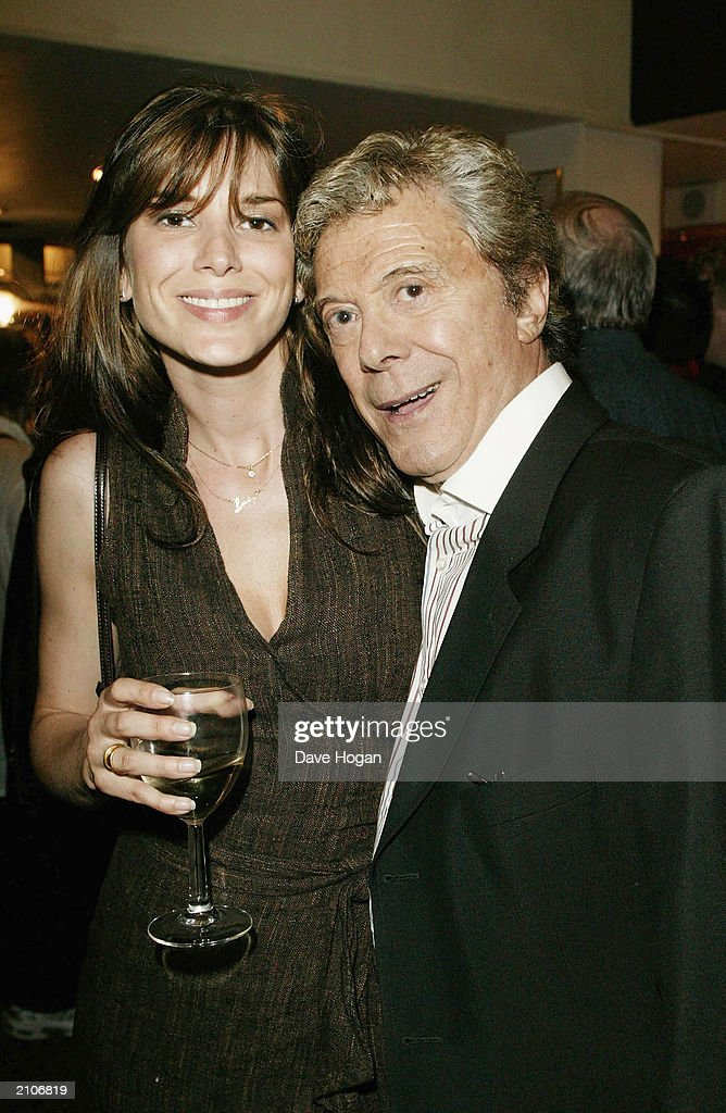 Dancer Lionel Blair and daughter Lucy attend the party for the 30th anniversary performance of 'The Rocky Horror Picture Show' on June 23, 2003 at Queens Theatre, London, England.