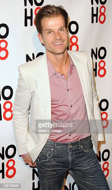 Dancer Louis Van Amstel arrives for the City Of West Hollywood's Proclaimation of Dec 13th as 'NOH8 Day' Held at The House Of Blues on December 13...