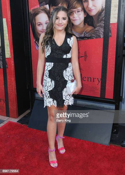 Dancer Mackenzie Ziegler attends the 2017 Los Angeles Film Festival Opening Night Premiere Of Focus Features' 'The Book Of Henry' at Arclight Cinemas...