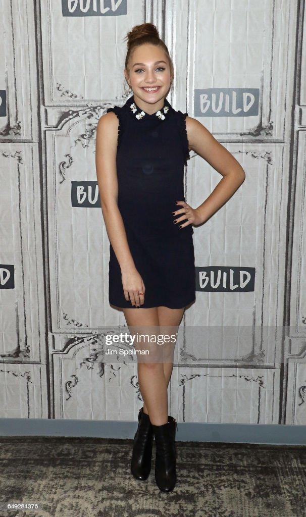 "Build Series Presents Maddie Ziegler Discussing ""The Maddie Diaries"""