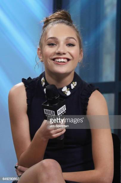 Dancer Maddie Ziegler attends the Build series to discuss 'The Maddie Diaries' at Build Studio on March 7 2017 in New York City