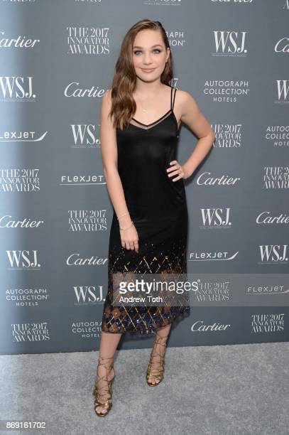 Dancer Maddie Ziegler attends the WSJ Magazine 2017 Innovator Awards at MOMA on November 1 2017 in New York City