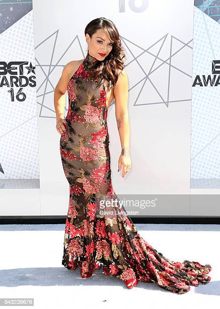Dancer Mayte Garcia attends the 2016 BET Awards at Microsoft Theater on June 26 2016 in Los Angeles California