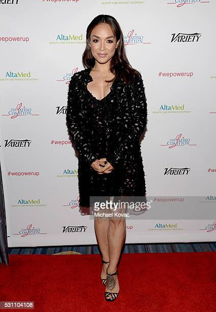 Dancer Mayte Garcia attends the AltaMed Power Up We Are The Future Gala at the Beverly Wilshire Four Seasons Hotel on May 12 2016 in Beverly Hills...