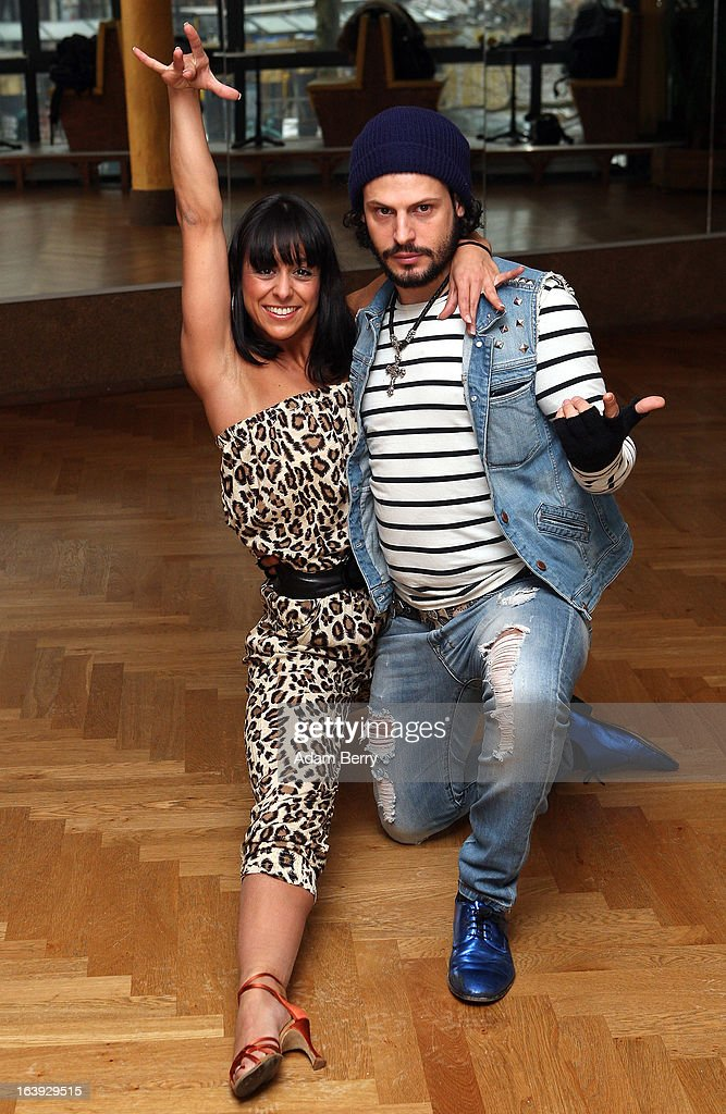 Dancer Melissa Ortiz-Gomez (L) and actor Manuel Cortez pose at a photo call for the television competition 'Let's Dance' on March 18, 2013 in Berlin, Germany. On April 5th, the show, in which celebrities compete at dancing, goes into its sixth round on the German RTL network.
