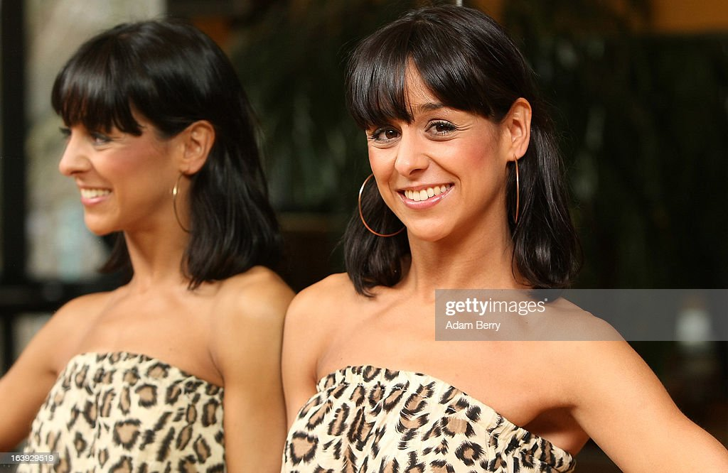 Dancer Melissa Ortiz-Gomez poses at a photo call for the television competition 'Let's Dance' on March 18, 2013 in Berlin, Germany. On April 5th, the show, in which celebrities compete at dancing, goes into its sixth round on the German RTL network.