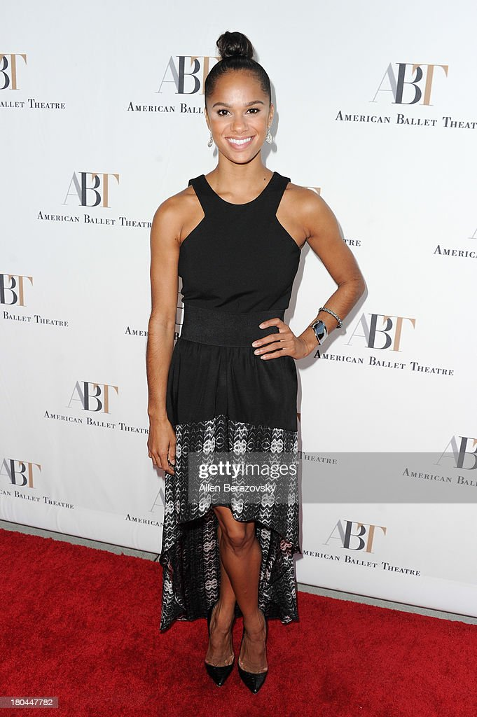 Dancer <a gi-track='captionPersonalityLinkClicked' href=/galleries/search?phrase=Misty+Copeland&family=editorial&specificpeople=2444160 ng-click='$event.stopPropagation()'>Misty Copeland</a> attends American Ballet Theatre's annual 'Stars Under The Stars: An Evening In Los Angeles' event on September 12, 2013 in Hollywood, California.