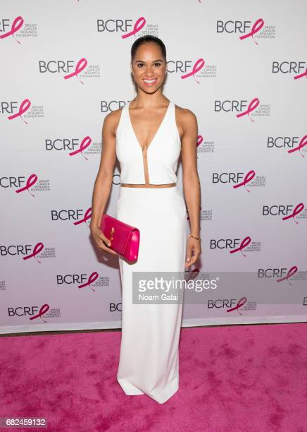 Dancer Misty Copeland attends the 2017 Breast Cancer Research Foundation Hot Pink Party at Park Avenue Armory on May 12 2017 in New York City