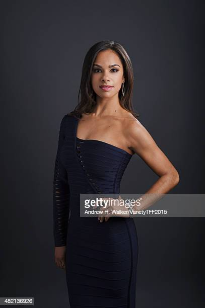 Dancer Misty Copeland is photographed for Variety at the Tribeca Film Festival on April 19 2015 in New York City CREDIT MUST READ Andrew H...