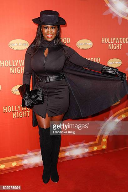Dancer Motsi Mabuse attends the Hollywood Superhero Fairytale Night hosted by Jens Hilbert on November 26 2016 in Darmstadt Germany