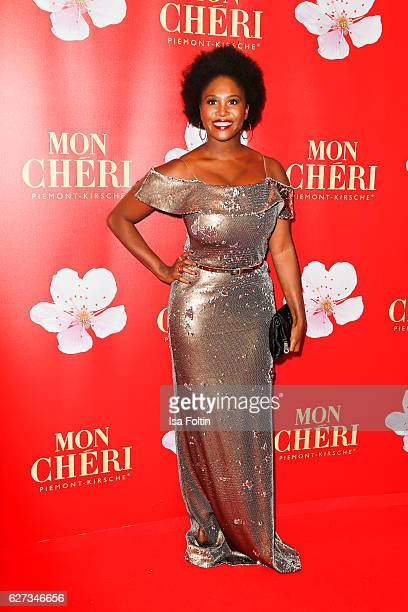 Dancer Motsi Mabuse attends the Mon Cheri Barbara Tag at Postpalast on December 2 2016 in Munich Germany