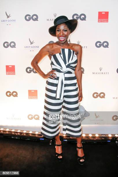 Dancer Nikeata Thompson attends the GQ Mension Style Party 2017 at Austernbank on July 5 2017 in Berlin Germany
