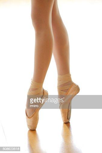 Dancer on pointe : Stock Photo