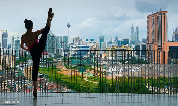 Dancer on the Balcony