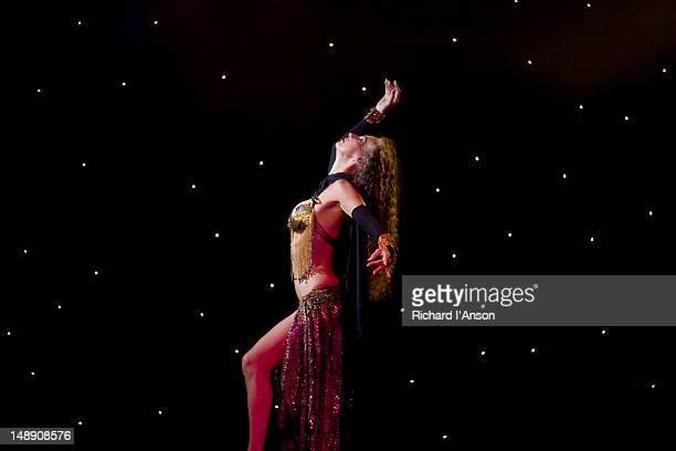 Dancer performing at Maho Casino.