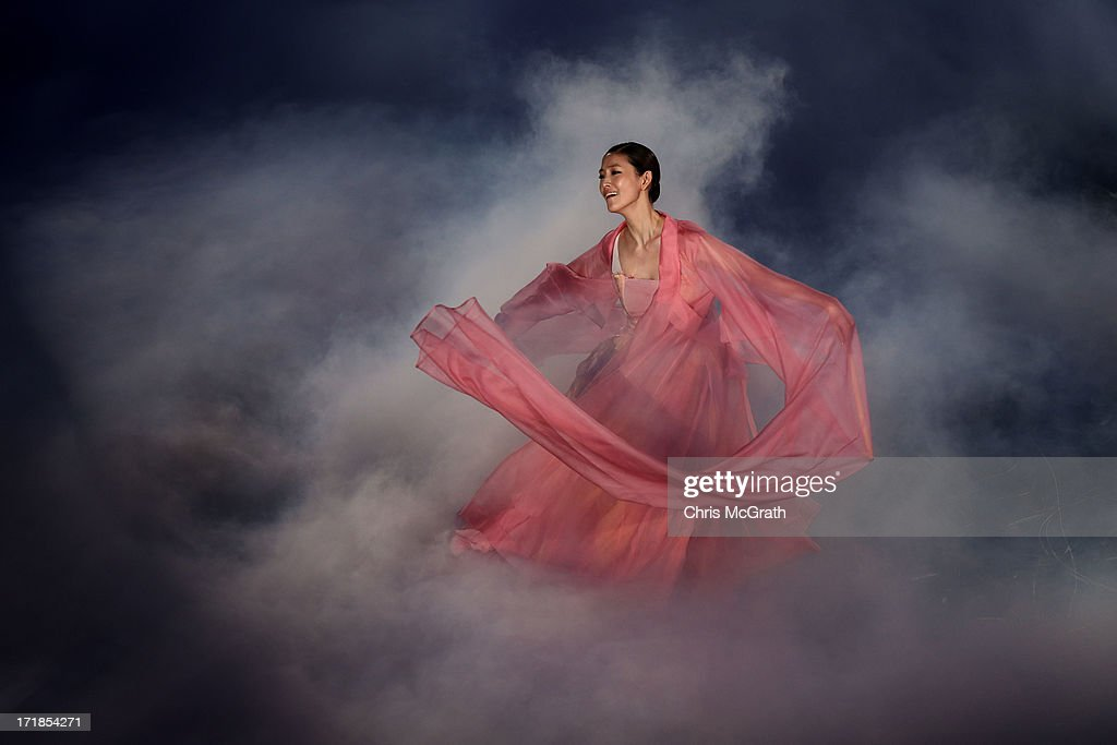 A dancer performs during the Opening Ceremony at Incheon Samsan World Gymansium on day one of the 4th Asian Indoor & Martial Arts Games on June 29, 2013 in Incheon, South Korea.