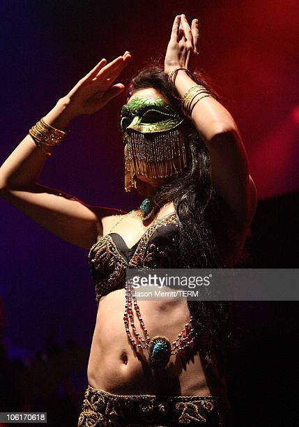 Dancer performs during the 'Thievery Corporation' show during the Vegoose Music Festival 2007 at Sam Boyd Stadium on October 27 2007 in Las Vegas...