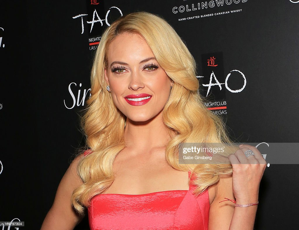 Dancer <a gi-track='captionPersonalityLinkClicked' href=/galleries/search?phrase=Peta+Murgatroyd&family=editorial&specificpeople=6824437 ng-click='$event.stopPropagation()'>Peta Murgatroyd</a> arrives at the annual Simon G. Soiree at the Tao Nightclub at The Venetian Las Vegas on June 1, 2013 in Las Vegas, Nevada.