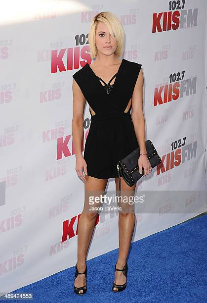 Dancer Peta Murgatroyd attends 1027 KIIS FM's 2014 Wango Tango at StubHub Center on May 10 2014 in Los Angeles California