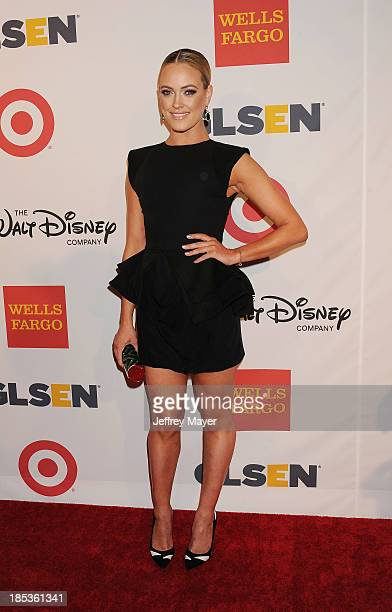Dancer Peta Murgatroyd attends the 9th Annual GLSEN Respect Awards held at the Beverly Hills Hotel on October 18 2013 in Beverly Hills California