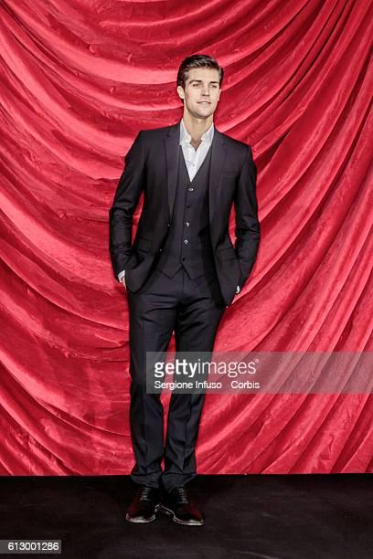 Dancer Roberto Bolle attends a photocall to present the show 'Roberto Bolle – La Mia Danza Libera' to be broadcast in prime time on RaiUno at Teatro...