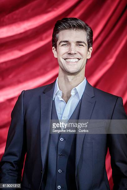 Dancer Roberto Bolle attends a photocall to present the show 'Roberto Bolle – La Mia Danza Libera' to be broadcast in prime time on RaiUno at Teatro...